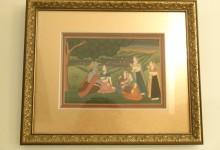 Framed Hand Painting of Krishna from New Delhi