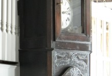 1860 French Long Case Grandfather Clock