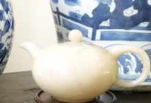 Late 19th Century Chinese Carved Jade Teapot
